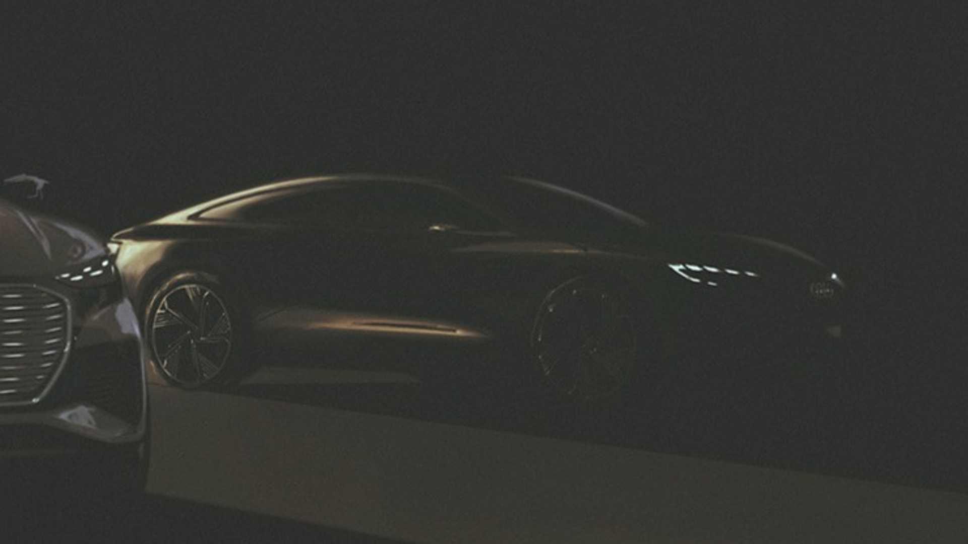 Audi, i primi teaser di una Sportback elettrica