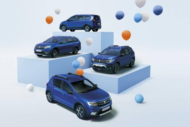 """Dacia: più """"stilose"""" per festeggiare i 15 anni"""