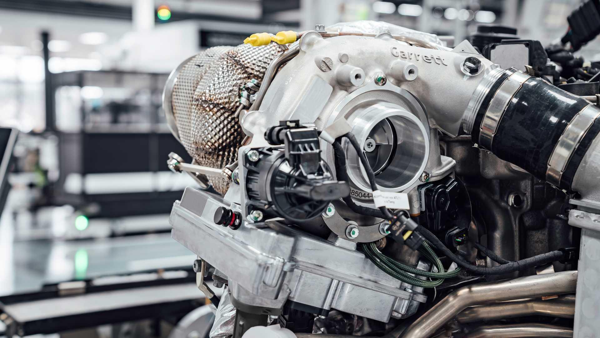 Turbocompressore gas di scarico elettrico Mercedes-AMG