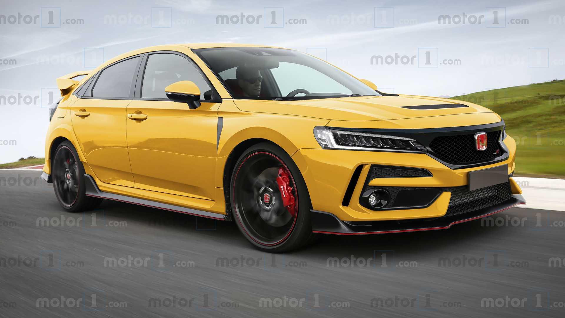 Motor1.com - Rending Honda Civic Type R di nuova generazione