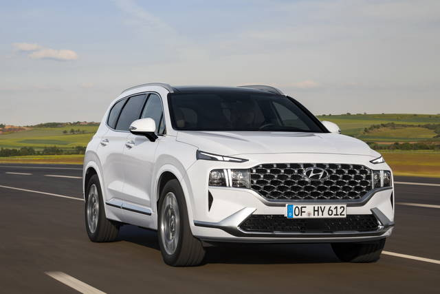 Hyundai Santa Fe: annunciati i motori