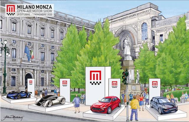 Milano Monza Motor Show: Salone a cielo aperto anti-Covid in piazza Duomo e dintorni