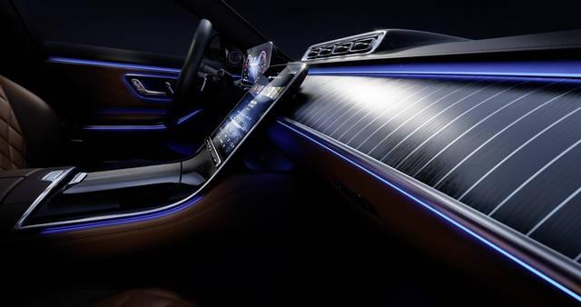 Mercedes Classe S: svelati gli interni