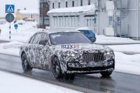 Rolls-Royce Ghost: le foto spia