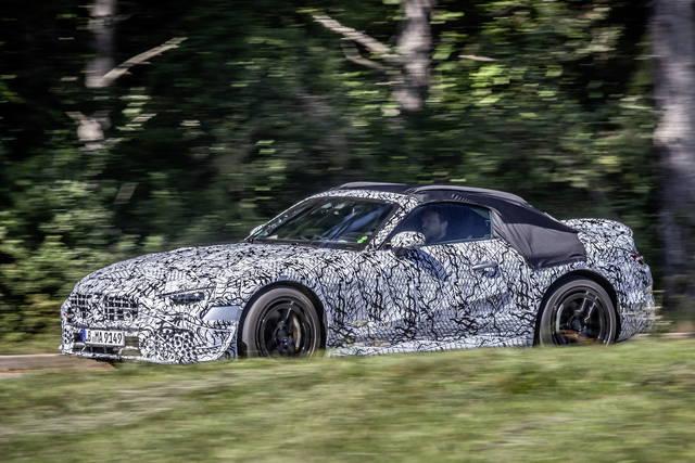 Mercedes SL: nel 2021 la settima generazione