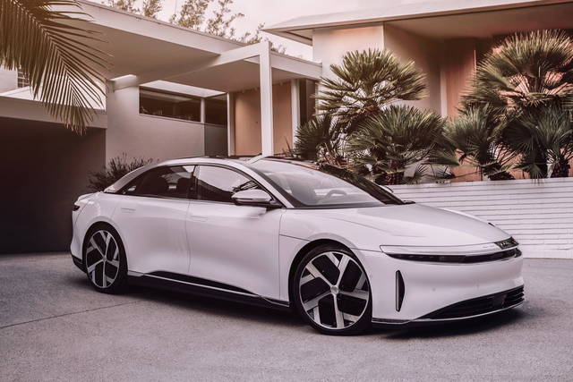 Lucid Air: svelata la versione definitiva