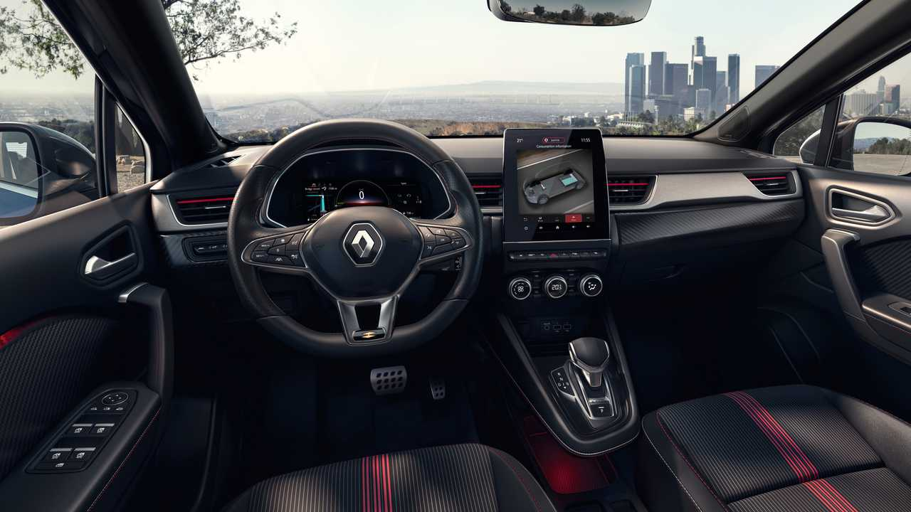Renault Captur E-Tech ibrida full hybrid (2020)