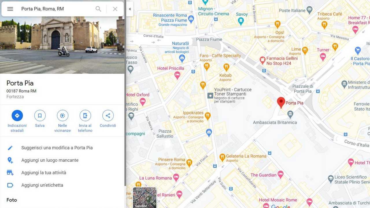 Immagine 2 Google Maps condivisione posizione e indicazioni