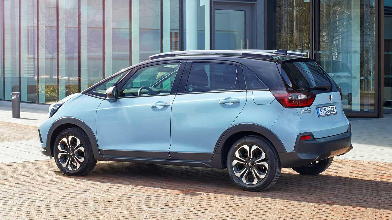 Nuova Honda Jazz Hybrid