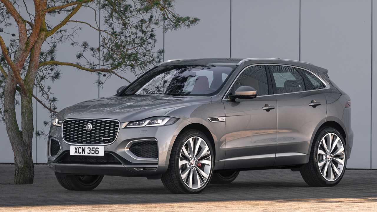 Jaguar F-Pace restyling 2020