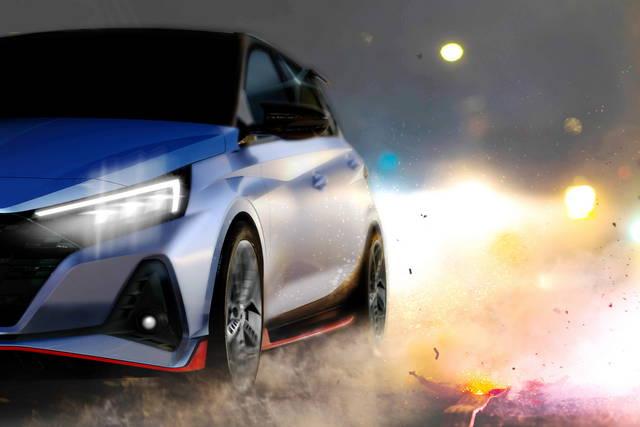 Hyundai i20 N: il debutto si avvicina