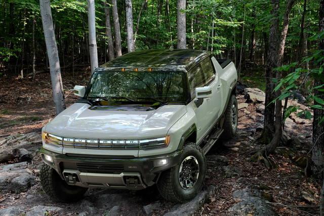 Ritorna l'Hummer, ma è un pick-up elettrico