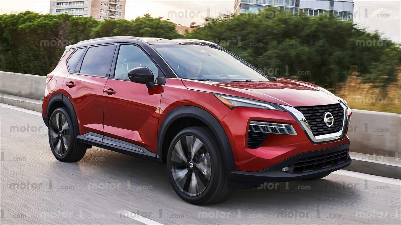 Nuova Nissan Qashqai 2020, il rendering