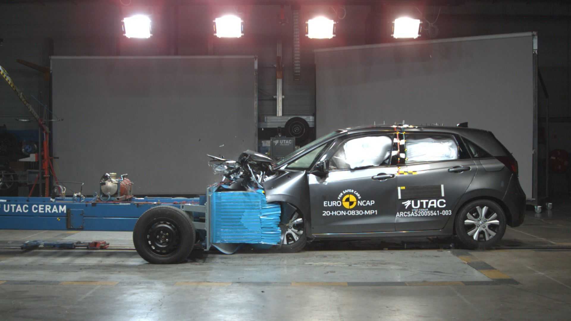 Honda Jazz, crash test Euro NCAP