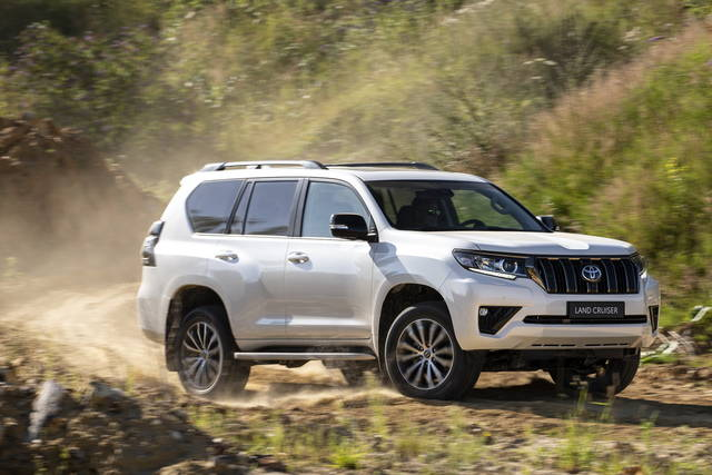 Toyota Land Cruiser: più potente e connessa