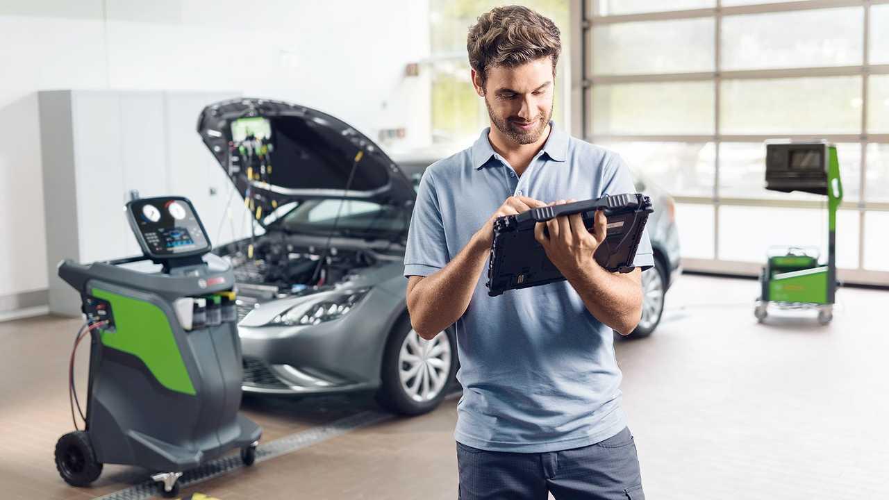 I sistemi Bosch per la calibrazione degli ADAS