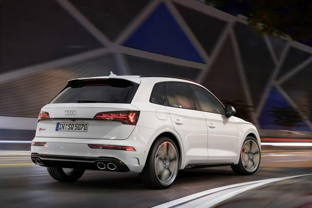 Audi SQ5 TDI: potenza del diesel