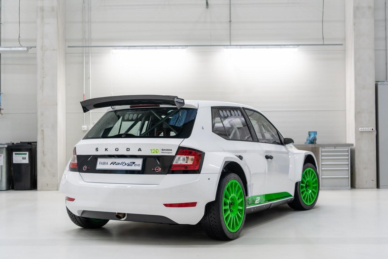 La Skoda Fabia Rally2 Evo riceve gli aggiornamenti 2021