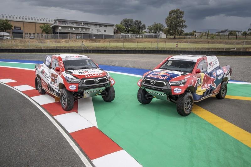 Toyota Gazoo Racing alla Dakar 2021 con quattro Hilux