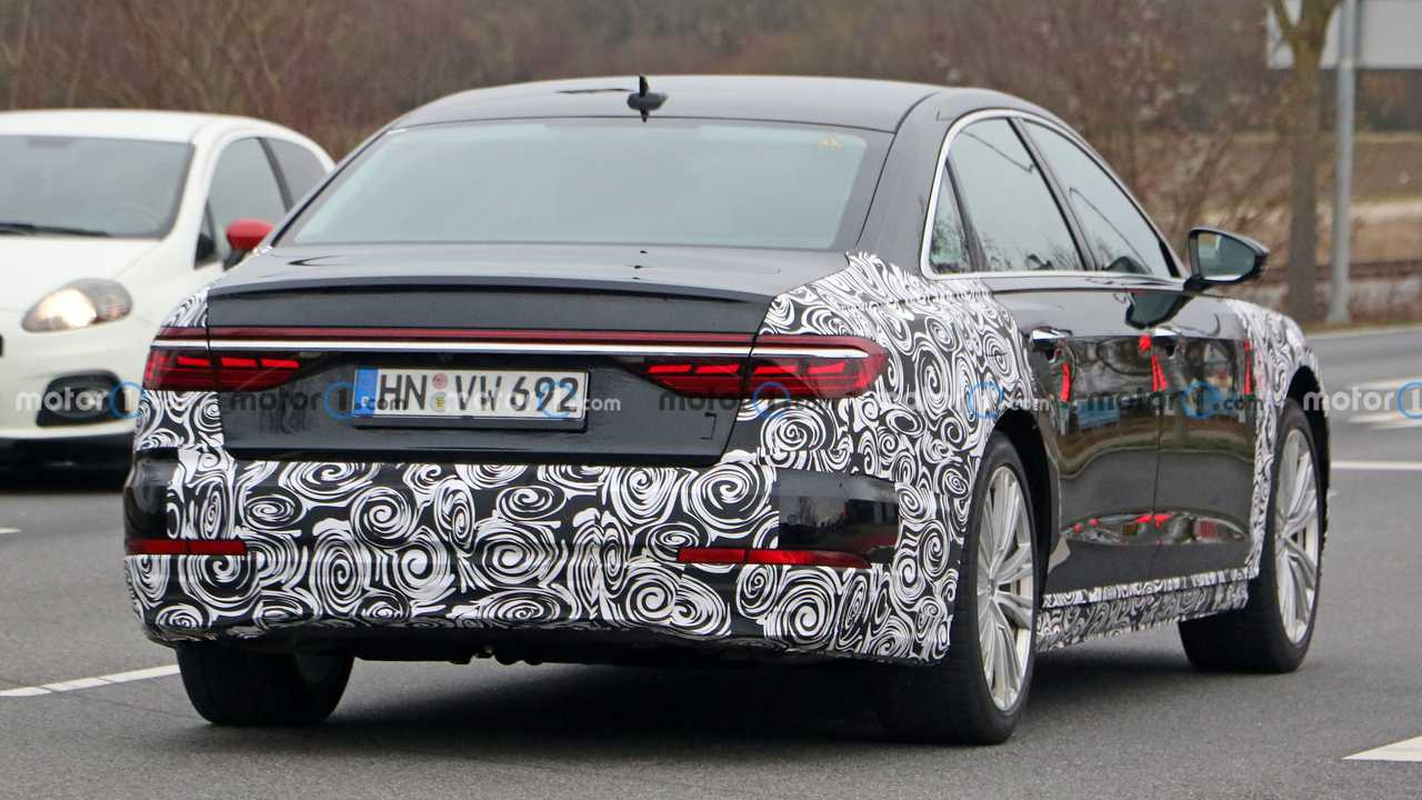 Audi A8 Restyling, le prime foto spia