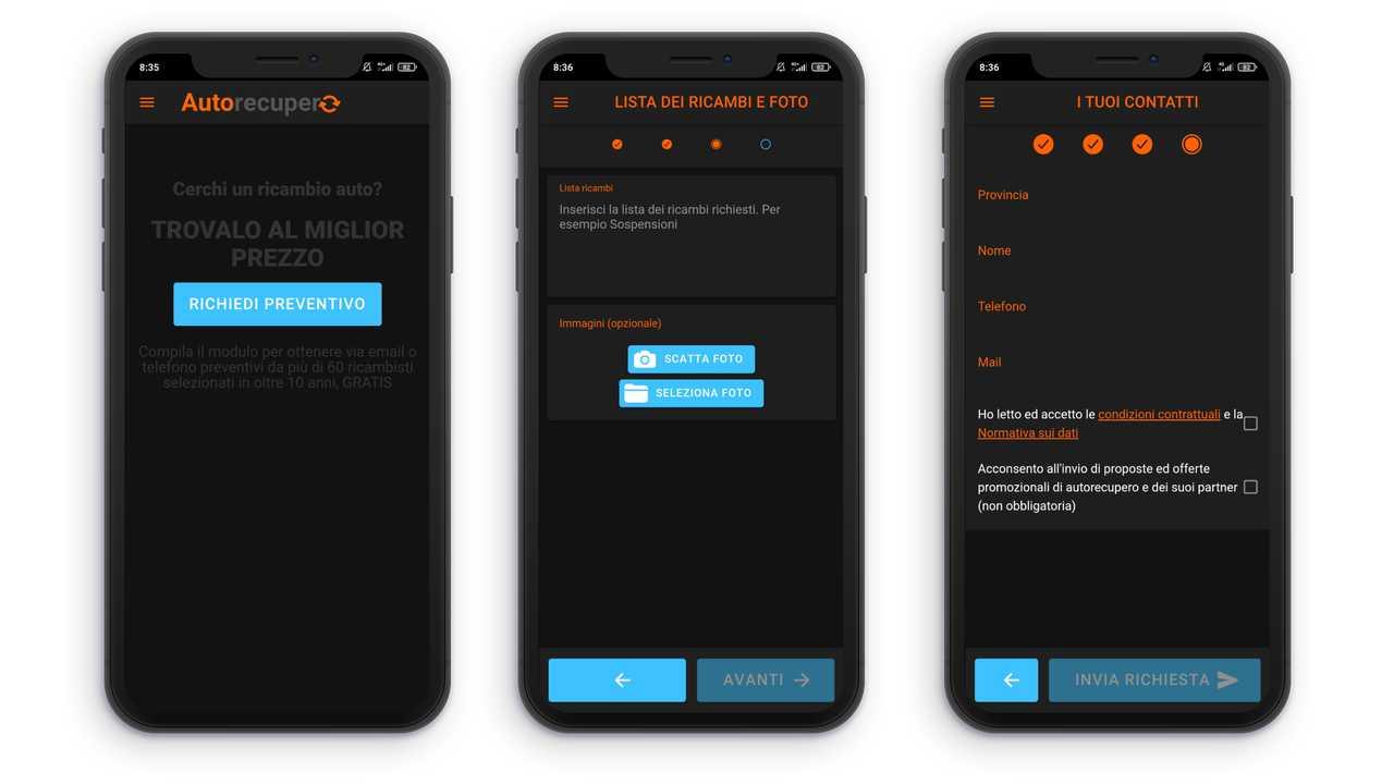 Immagine 4 app ricambi auto