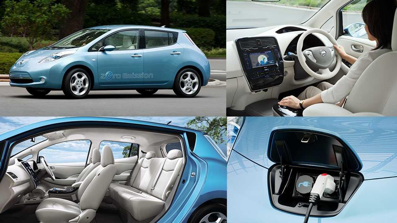 Nissan leaf 10 anni
