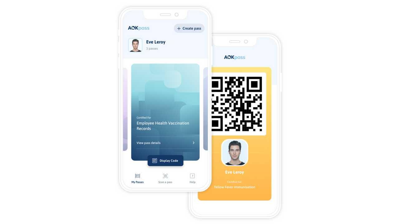 Immagine 3 app passaporto sanitario