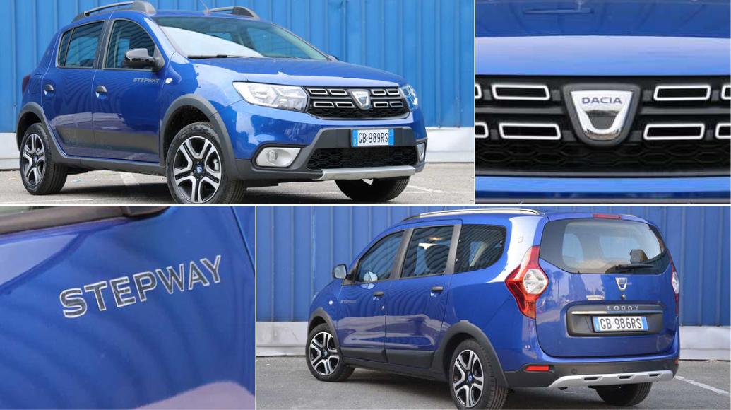 Dacia Lodgy blue dCi 115 e Sandero 1.0 TCe ECO-G Stepway 15th: la prova su strada