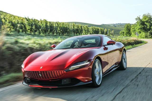 La Ferrari Roma è l'auto preferita dei lettori di alVolante per il 2020