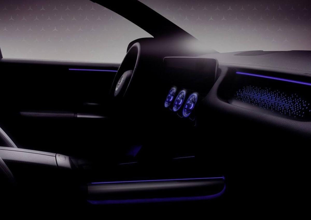 Mercedes EQA: il primo teaser