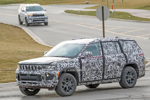 Nuova Jeep Grand Cherokee: quasi pronta al debutto