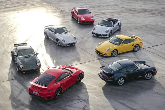 Porsche 911 Turbo: 45 anni di successi