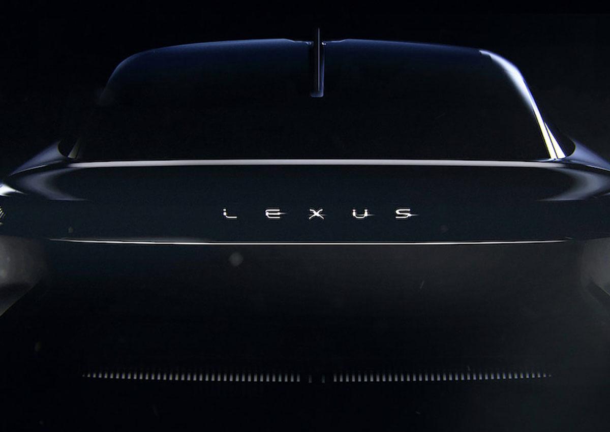 Lexus svela un nuovo teaser del prossimo SUV elettrico