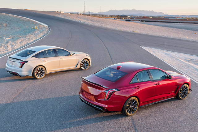 Cadillac CT5-V e CT4-V Blackwing: american muscle