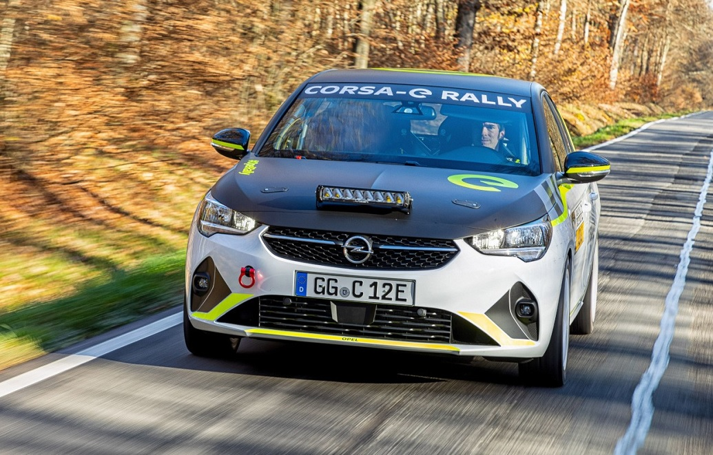 Opel Corsa e-Rally: pronta per il debutto agonistico