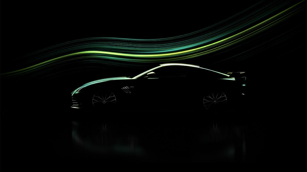 Aston Martin: il teaser di un nuovo modello