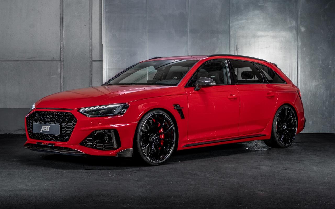 Audi RS4 Avant by ABT: le immagini ufficiali