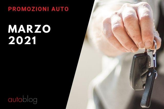 Offerte auto: le promozioni di marzo 2021