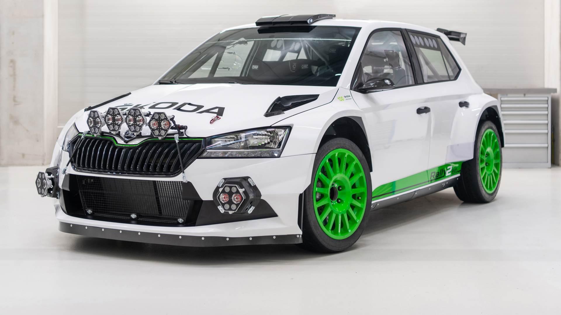 Skoda Fabia Rally2 evo 2021: edizione celebrativa da 290 CV