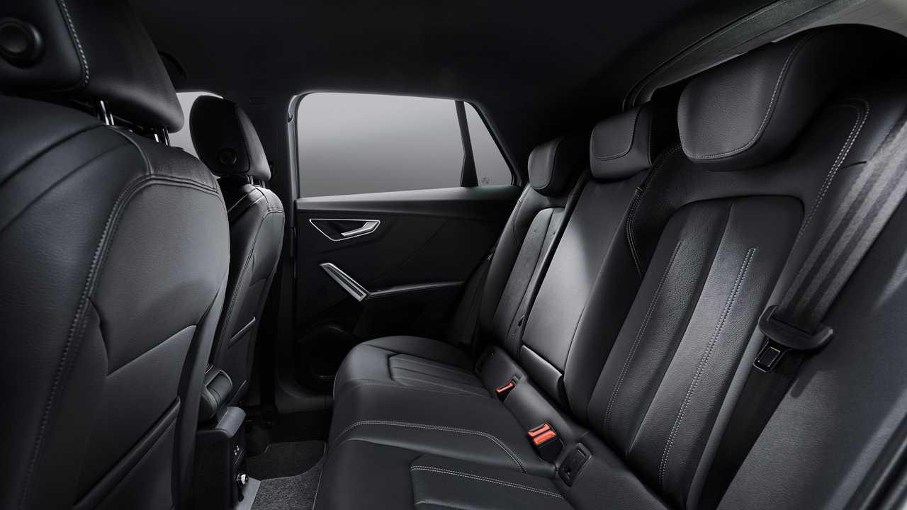 Audi Q2 2021, sedili posteriori