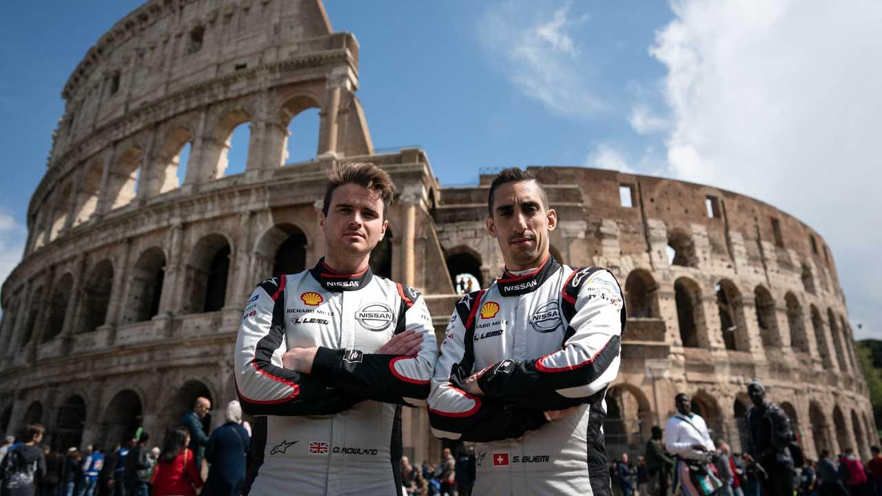 Nissan e.dams all'e-Prix di Roma 2021