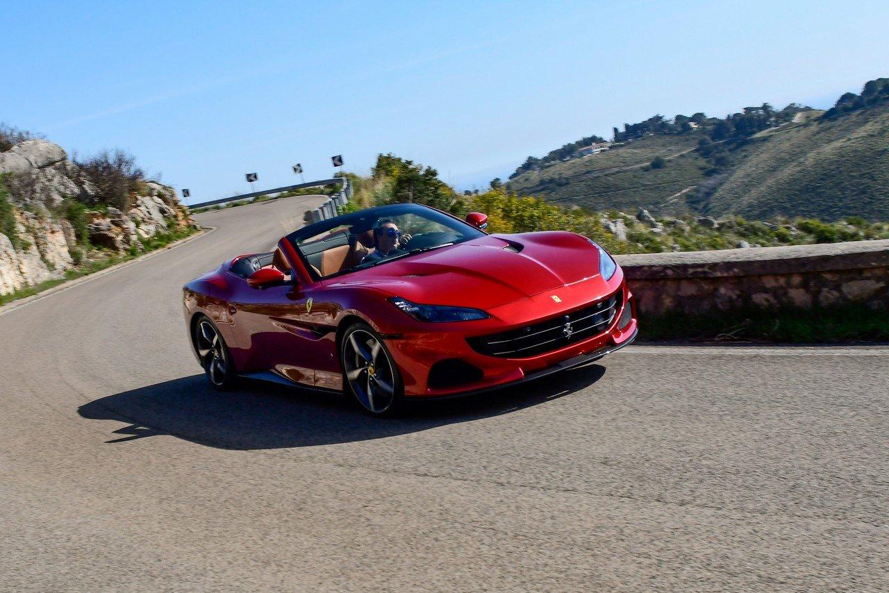 Ferrari Portofino M: prima prova della scoperta di Maranello