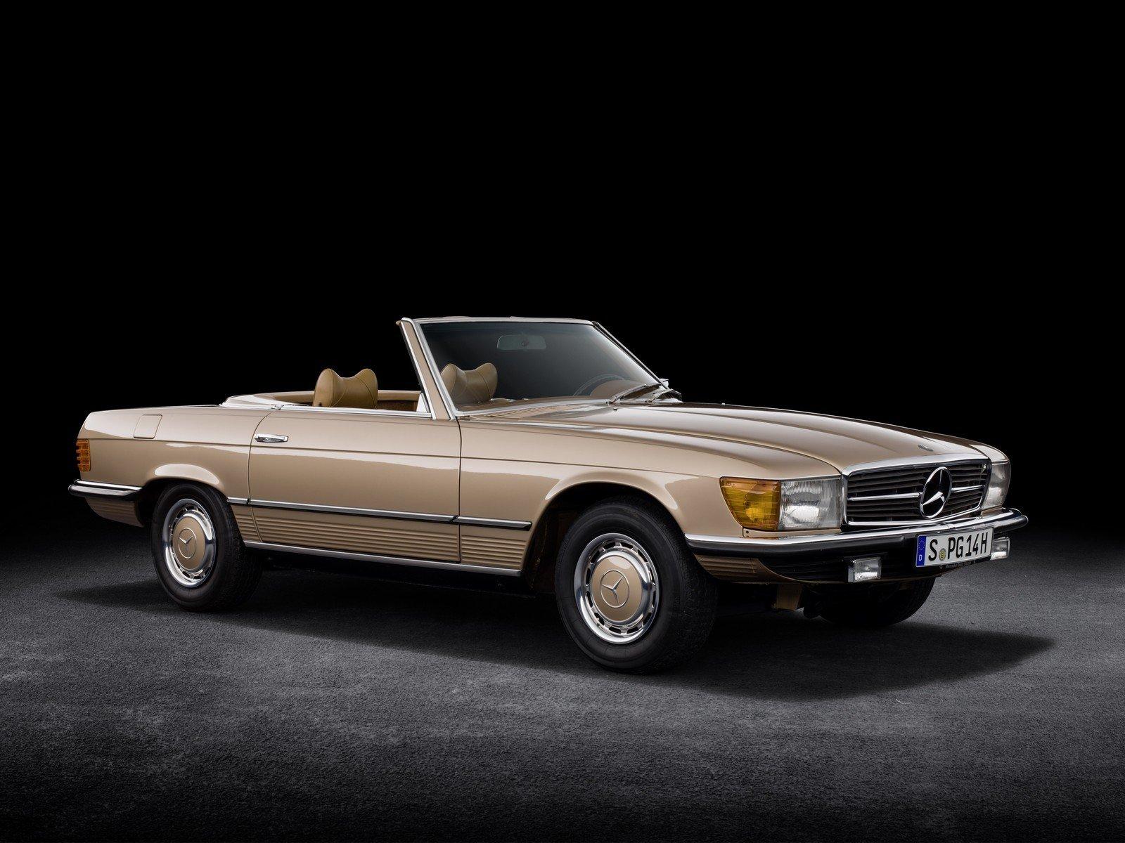 I 50 anni della Mercedes-Benz SL R107