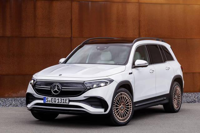 Mercedes EQB: suv elettrica formato famiglia