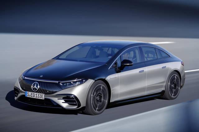 Mercedes EQS: lusso sostenibile