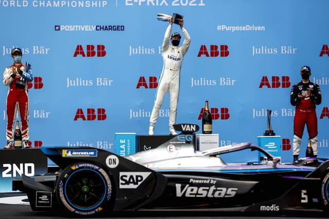 Formula E: risultato gara 2 dell'ePrix Roma 2021