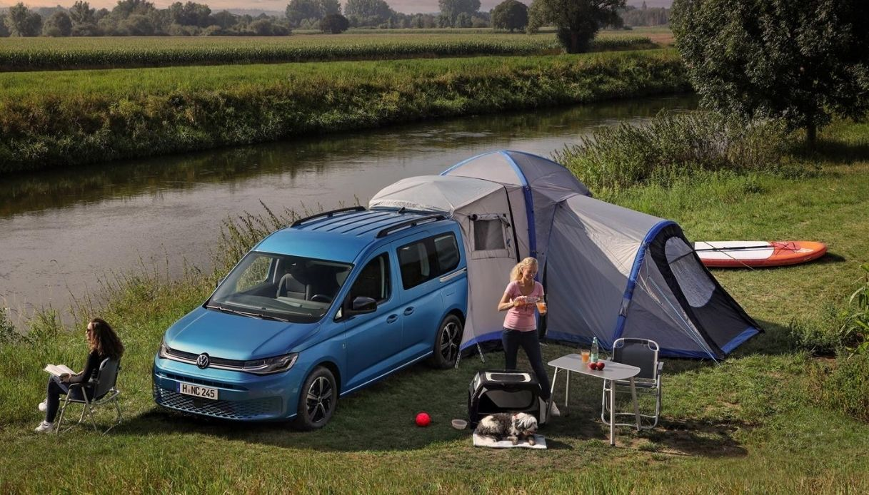 Il camper più amato al mondo Volkswagen Caddy California