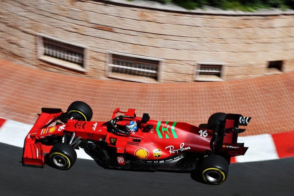 F1 GP di Monaco: pole position col botto per Leclerc