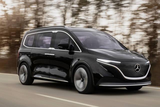 Mercedes EQT: il multispazio diventa elettrico