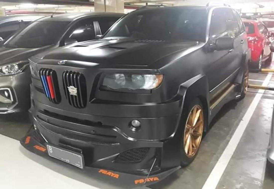 Quando il tuning è orrendo: una BMW X5 rovinata dall'elaborazione